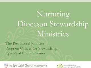 Nurturing  Diocesan Stewardship Ministries