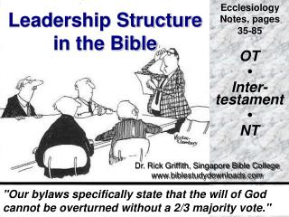 Leadership Structure in the Bible