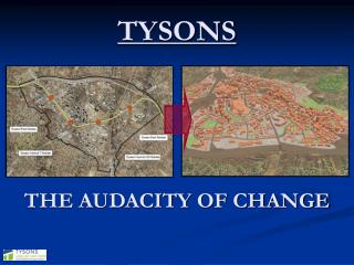 TYSONS THE AUDACITY OF CHANGE