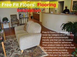 Free Fit Floors - Flooring Innovation