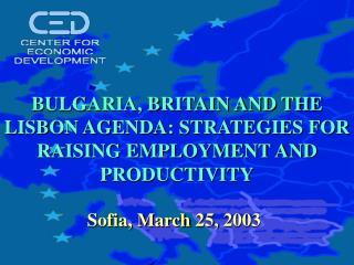Sofia, March 25,  200 3