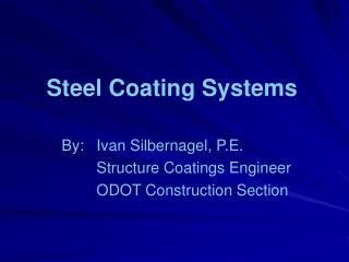 Steel Coating Systems