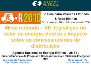Rio de Janeiro – RJ 18 de Novembro de 2010