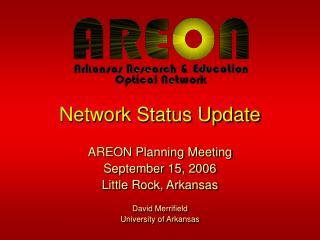 Network Status Update