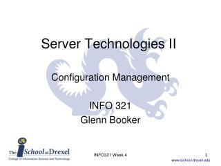 Server Technologies II