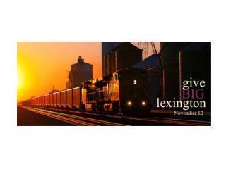 LEXINGTON community foundation