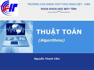 THU?T TO�N (Algorithms)