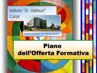 """Istituto """"G. Vallauri""""   Carpi"""