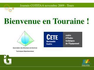 Journée COTITA 6 novembre 2009 - Tours