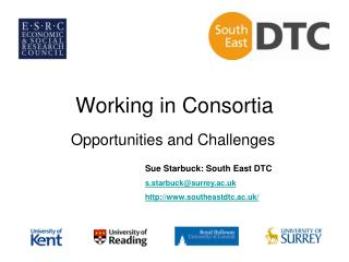 Working in Consortia