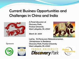 Current Business Opportunities and Challenges in China and India