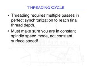 Threading Cycle