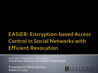 EASiER: Encryption-based Access Control in Social Networks with Efficient Revocation