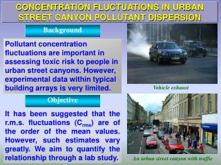 CONCENTRATION FLUCTUATIONS IN URBAN STREET CANYON POLLUTANT DISPERSION