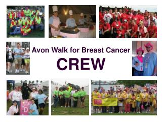 Avon Walk for Breast Cancer  CREW