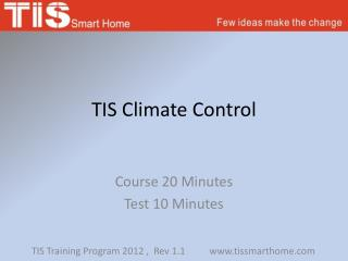 TIS Climate Control