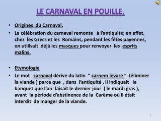 Le  Carnaval  en  Pouille .