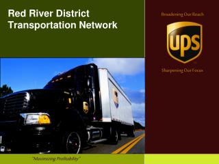 Red River District Transportation Network