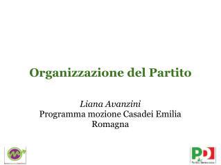 Organizzazione del Partito