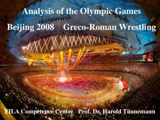Analysis of the Olympic Games  Beijing 2008    Greco-Roman Wrestling