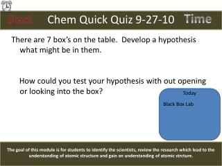 Chem  Quick Quiz 9-27-10