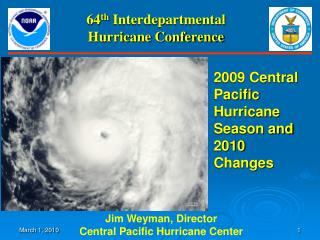 64 th  Interdepartmental Hurricane Conference
