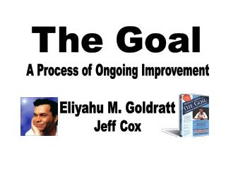 a look at eliyahu goldratts theory of constraints essay Notes on continuous improvement 2 april 2007 by eliyahu m goldratt and jeff cox the theory of constraints.