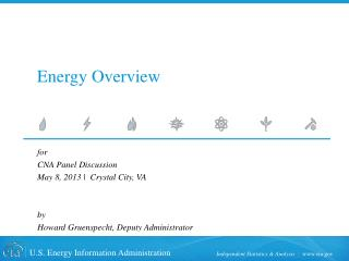 Energy Overview