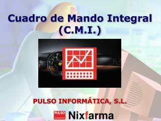 Cuadro de Mando Integral (C.M.I.)