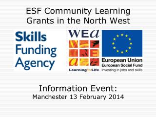 ESF Community Learning Grants in the North West