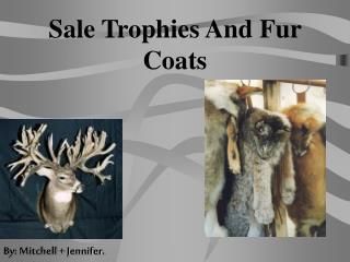 Sale Trophies And Fur  Coats