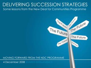 DELIVERING SUCCESSION STRATEGIES