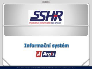 Informační systém Argis