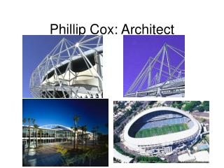 Phillip Cox: Architect