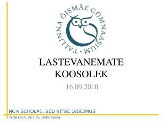 LASTEVANEMATE KOOSOLEK