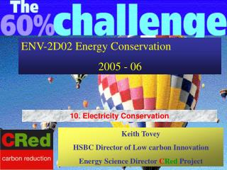 ENV-2D02 Energy Conservation 2005 - 06