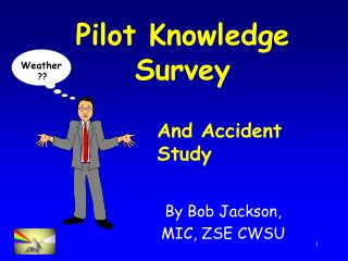 Pilot Knowledge Survey