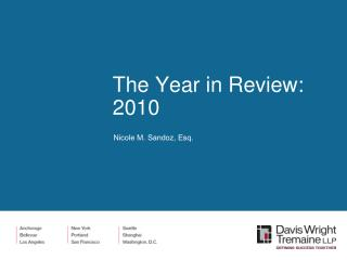 The Year in Review: 2010