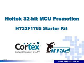 HT32F1765 Starter Kit