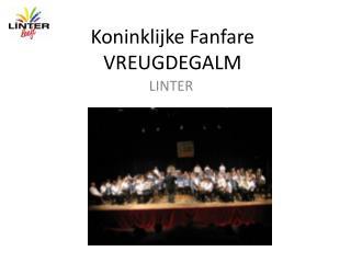 Koninklijke Fanfare VREUGDEGALM