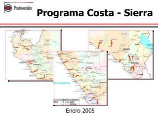 Programa Costa - Sierra