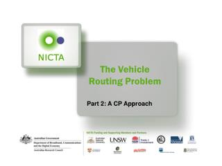 The Vehicle Routing Problem