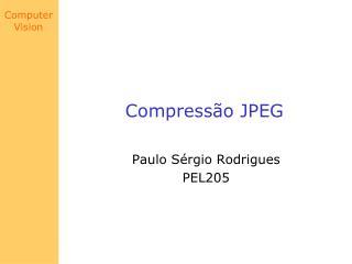 Compressão JPEG