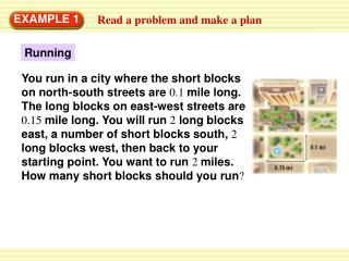 Read a problem and make a plan