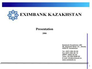 Presentation 2006