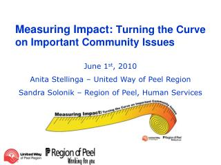 Measuring Impact:  Turning the Curve on Important Community Issues