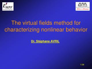 The virtual fields method for characterizing nonlinear behavior