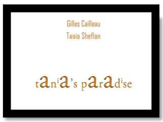 Tanias Paradise