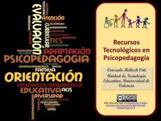 Consuelo Belloch  Ort� Unidad de Tecnolog�a Educativa. Universidad de Valencia