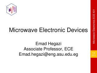 Microwave Electronic Devices